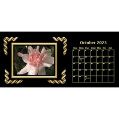 Black And Gold Desktop 11 Inch By Deborah   Desktop Calendar 11  X 5    0n87koxsg1v1   Www Artscow Com Oct 2017