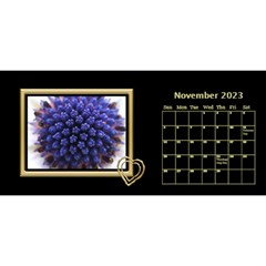 Black And Gold Desktop 11 Inch By Deborah   Desktop Calendar 11  X 5    0n87koxsg1v1   Www Artscow Com Nov 2017