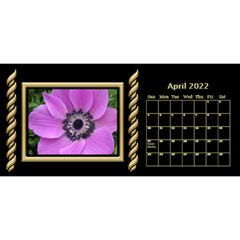Black And Gold Desktop 11 Inch By Deborah   Desktop Calendar 11  X 5    0n87koxsg1v1   Www Artscow Com Apr 2017