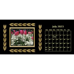 Black And Gold Desktop 11 Inch By Deborah   Desktop Calendar 11  X 5    0n87koxsg1v1   Www Artscow Com Jul 2017