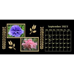 Black And Gold Desktop 11 Inch By Deborah   Desktop Calendar 11  X 5    0n87koxsg1v1   Www Artscow Com Sep 2017