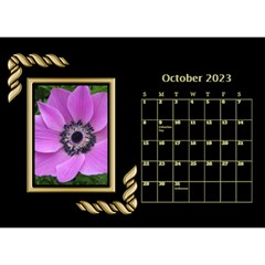 Black And Gold Desktop Calendar (8 5x6) By Deborah   Desktop Calendar 8 5  X 6    F5djq73kh5gh   Www Artscow Com Oct 2020