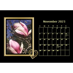 Black And Gold Desktop Calendar (8 5x6) By Deborah   Desktop Calendar 8 5  X 6    F5djq73kh5gh   Www Artscow Com Nov 2020
