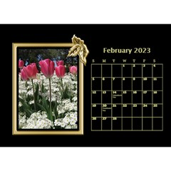 Black And Gold Desktop Calendar (8 5x6) By Deborah   Desktop Calendar 8 5  X 6    F5djq73kh5gh   Www Artscow Com Feb 2020