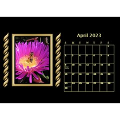 Black And Gold Desktop Calendar (8 5x6) By Deborah   Desktop Calendar 8 5  X 6    F5djq73kh5gh   Www Artscow Com Apr 2020