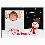 Christmas holiday - Large Glasses Cloth
