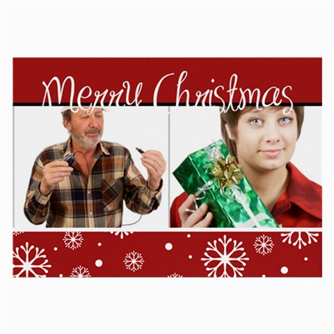 Christmas Holiday By May   Large Glasses Cloth   N0h9i68b1rf1   Www Artscow Com Front