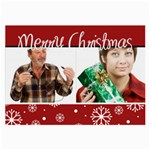 Christmas holiday - Glasses Cloth (Large)