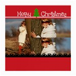 Christmas holiday - Medium Glasses Cloth