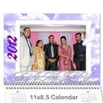 calender-Surat - Wall Calendar 11  x 8.5  (12-Months)