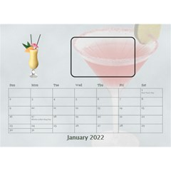 Happy Hour Desktop Calendar 8 5 x6  By Lil    Desktop Calendar 8 5  X 6    3s2ri91a28p7   Www Artscow Com Jan 2019