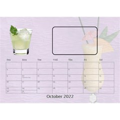 Happy Hour Desktop Calendar 8 5 x6  By Lil    Desktop Calendar 8 5  X 6    3s2ri91a28p7   Www Artscow Com Oct 2019