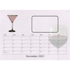 Happy Hour Desktop Calendar 8 5 x6  By Lil    Desktop Calendar 8 5  X 6    3s2ri91a28p7   Www Artscow Com Dec 2019