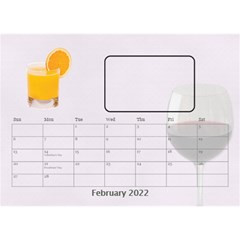 Happy Hour Desktop Calendar 8 5 x6  By Lil    Desktop Calendar 8 5  X 6    3s2ri91a28p7   Www Artscow Com Feb 2019