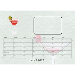 Happy Hour Desktop Calendar 8 5 x6  By Lil    Desktop Calendar 8 5  X 6    3s2ri91a28p7   Www Artscow Com Apr 2019