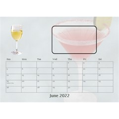 Happy Hour Desktop Calendar 8 5 x6  By Lil    Desktop Calendar 8 5  X 6    3s2ri91a28p7   Www Artscow Com Jun 2019