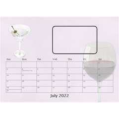 Happy Hour Desktop Calendar 8 5 x6  By Lil    Desktop Calendar 8 5  X 6    3s2ri91a28p7   Www Artscow Com Jul 2019