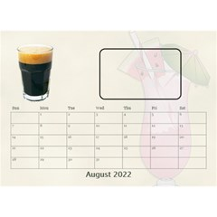 Happy Hour Desktop Calendar 8 5 x6  By Lil    Desktop Calendar 8 5  X 6    3s2ri91a28p7   Www Artscow Com Aug 2019