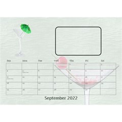 Happy Hour Desktop Calendar 8 5 x6  By Lil    Desktop Calendar 8 5  X 6    3s2ri91a28p7   Www Artscow Com Sep 2019