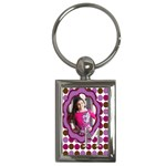 keychain-Girl - Key Chain (Rectangle)