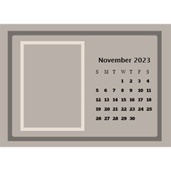 Coffee And Cream Desktop Calendar (8 5x6) By Deborah   Desktop Calendar 8 5  X 6    Gqwjgb94bm6t   Www Artscow Com Nov 2018