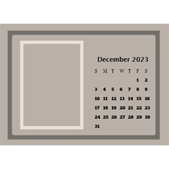 Coffee And Cream Desktop Calendar (8 5x6) By Deborah   Desktop Calendar 8 5  X 6    Gqwjgb94bm6t   Www Artscow Com Dec 2017