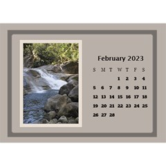 Coffee And Cream Desktop Calendar (8 5x6) By Deborah   Desktop Calendar 8 5  X 6    Gqwjgb94bm6t   Www Artscow Com Feb 2019