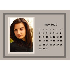 Coffee And Cream Desktop Calendar (8 5x6) By Deborah   Desktop Calendar 8 5  X 6    Gqwjgb94bm6t   Www Artscow Com May 2019