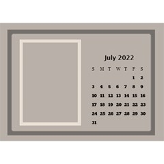 Coffee And Cream Desktop Calendar (8 5x6) By Deborah   Desktop Calendar 8 5  X 6    Gqwjgb94bm6t   Www Artscow Com Jul 2019