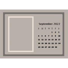 Coffee And Cream Desktop Calendar (8 5x6) By Deborah   Desktop Calendar 8 5  X 6    Gqwjgb94bm6t   Www Artscow Com Sep 2019