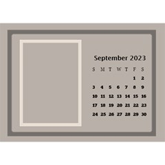 Coffee And Cream Desktop Calendar (8 5x6) By Deborah   Desktop Calendar 8 5  X 6    Gqwjgb94bm6t   Www Artscow Com Sep 2017