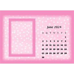 Pink Princess 2018 Desktop Calendar By Deborah   Desktop Calendar 8 5  X 6    Pd4jwc2ddnqp   Www Artscow Com Jun 2018