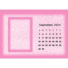 Pink Princess 2018 Desktop Calendar By Deborah   Desktop Calendar 8 5  X 6    Pd4jwc2ddnqp   Www Artscow Com Sep 2018
