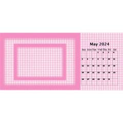 Pink Princess 2021 Desktop Calendar By Deborah May 2021