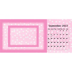 Pink Princess 2018 Desktop Calendar By Deborah   Desktop Calendar 11  X 5    04wcc5dxskfx   Www Artscow Com Sep 2018