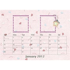 Our Family Desktop Calendar By Daniela   Desktop Calendar 8 5  X 6    Mqbyc94lzojw   Www Artscow Com Jan 2012