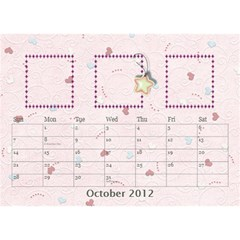 Our Family Desktop Calendar By Daniela   Desktop Calendar 8 5  X 6    Mqbyc94lzojw   Www Artscow Com Oct 2012