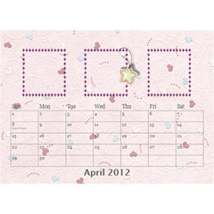 Our Family Desktop Calendar By Daniela   Desktop Calendar 8 5  X 6    Mqbyc94lzojw   Www Artscow Com Apr 2012