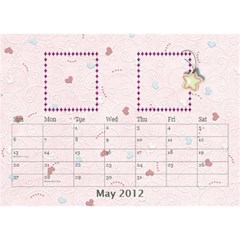 Our Family Desktop Calendar By Daniela   Desktop Calendar 8 5  X 6    Mqbyc94lzojw   Www Artscow Com May 2012