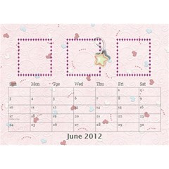 Our Family Desktop Calendar By Daniela   Desktop Calendar 8 5  X 6    Mqbyc94lzojw   Www Artscow Com Jun 2012