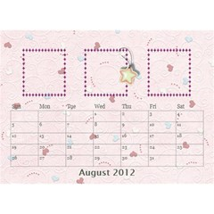 Our Family Desktop Calendar By Daniela   Desktop Calendar 8 5  X 6    Mqbyc94lzojw   Www Artscow Com Aug 2012