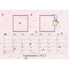 Our Family Desktop Calendar By Daniela   Desktop Calendar 8 5  X 6    Mqbyc94lzojw   Www Artscow Com Sep 2012