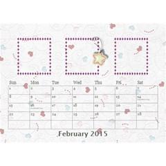 Our Family Desktop Calendar White By Daniela   Desktop Calendar 8 5  X 6    Zcb944za6e69   Www Artscow Com Feb 2015