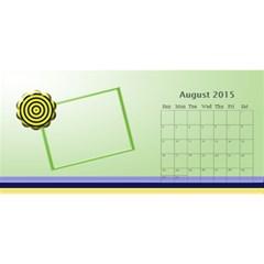 Family Desktop Calendar 11x5 By Daniela   Desktop Calendar 11  X 5    Fjmi7dxd2tjx   Www Artscow Com Aug 2015
