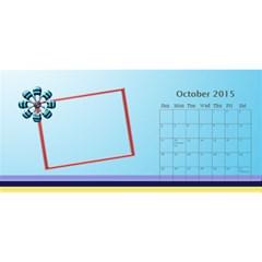 My Family Desktop Calendar 11x5 By Daniela   Desktop Calendar 11  X 5    E59yerwz23ie   Www Artscow Com Oct 2015
