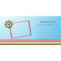 My Family Desktop Calendar 11x5 By Daniela   Desktop Calendar 11  X 5    E59yerwz23ie   Www Artscow Com Sep 2015