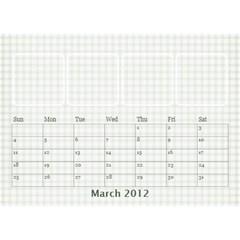 Desk Calendar Gift By Laurrie   Desktop Calendar 8 5  X 6    Zn3aiz886yi9   Www Artscow Com Mar 2012