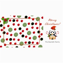 Christmas Penguin Photo Card By Laurrie   4  X 8  Photo Cards   Yni1afs6iug7   Www Artscow Com 8 x4  Photo Card - 1
