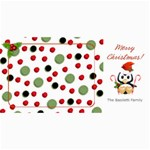 Christmas Penguin Photo Card - 4  x 8  Photo Cards