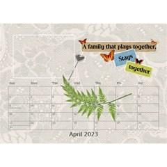 I Love My Family Desktop Calendar 8 5x6 By Lil    Desktop Calendar 8 5  X 6    6py17zofvmre   Www Artscow Com Apr 2015